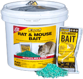 Kaput rat and mouse bait